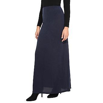 KRISP ženy dámy pletené vysoký pás dlhé bodycon line zimné BoHo Maxi sukne šaty