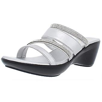 Callisto Womens viera Open Toe Casual Slide Sandals