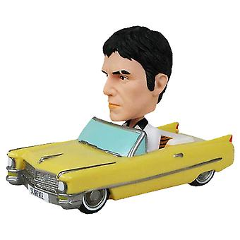 Scarface Bobble Car with Tony Montana Wacky Wobbler