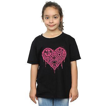 Marvel Girls I Heart Avengers T-Shirt