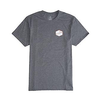 Billabong Ridge Short Sleeve T-Shirt in Dark Grey Heath