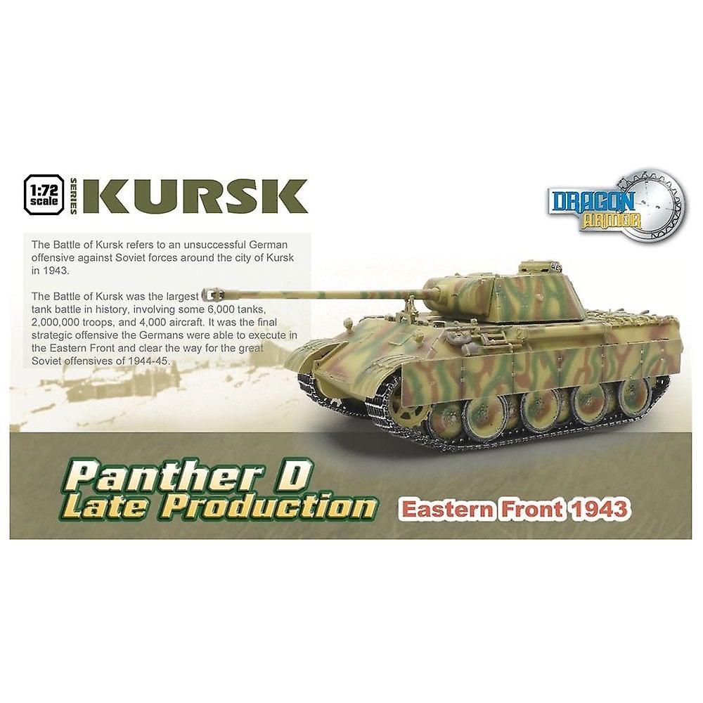 Dragon Armor Dragon Tank - 1:72 - 60625  Panther Aust.D Late Production Kursk 1943