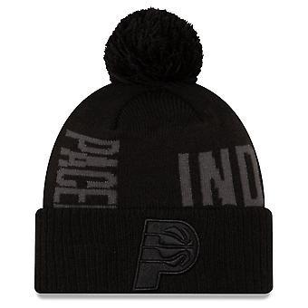 New Era Bobble Winter Cap - NBA TIP OFF Indiana Pacers