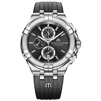Maurice Lacroix AI1018-SS001-330-2 Men's Aikon Chronograph Wristwatch