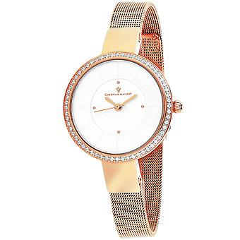 Christian Van Sant Mujeres's Reign Silver Dial Watch - CV0221