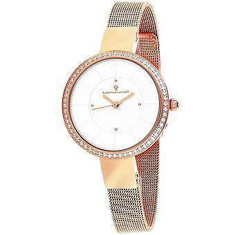 Christian Van Sant Women's Reign Silver Dial Watch - CV0221