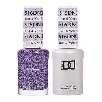Dnd Duo Gel & Nail Polish Set - Just 4 You 516 - 2x15ml