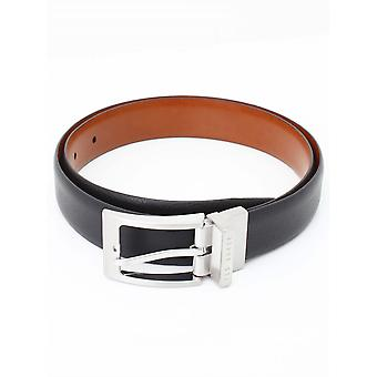 Ted Baker Karmer Reversible Belt - Black