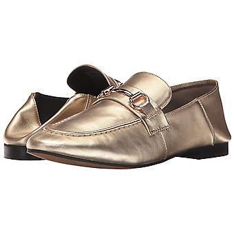 Steven by Steve Madden Womens Santana Leather Almond Toe Loafers
