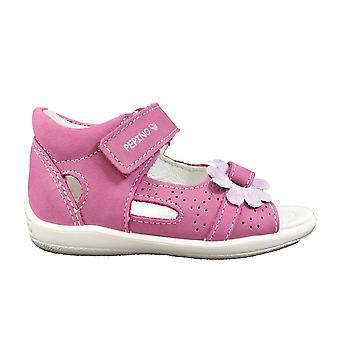 Ricosta Silvi 3124100-341 candy roze lederen meisjes gesloten terug sandalen