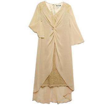 DRESS UP Sukienka Zestaw DU67 Beżowy