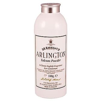 D R Harris Arlington Talcum Powder For Men 100g
