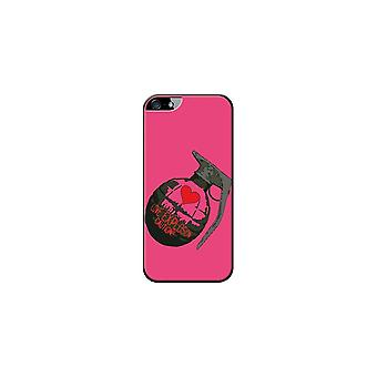 Hull Made In France Grenade Rose For Apple IPhone 5