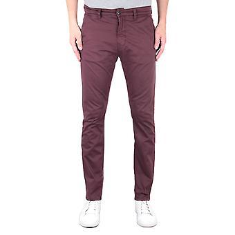 Nudie Jeans Co Slim Adam Red Chinos