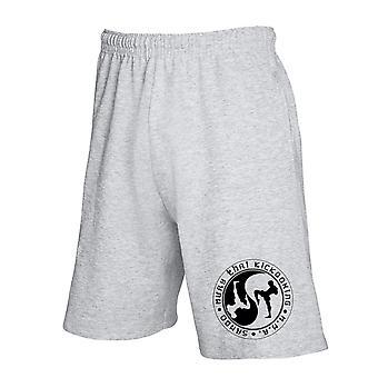 Pantaloncini tuta grigio wtc1411 muay thai kickboxing
