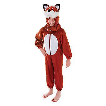 Childrens Fox Fancy Dress Costume (5-6 Years)