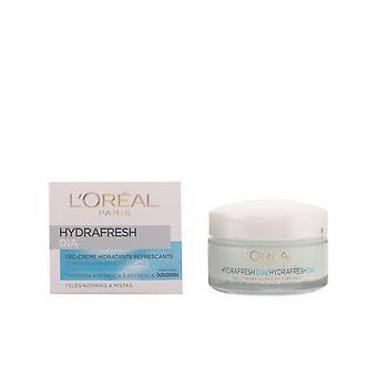 L'Oreal compõem Hydrafresh Gel-Creme Día Piel Mixta 50 Ml para as mulheres