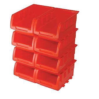 Stapelboxen Set 8pce - 165x105x75mm