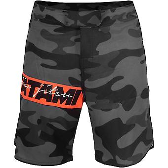 Tatami Fightwear Red Bar Camo Fight Shorts - Camo