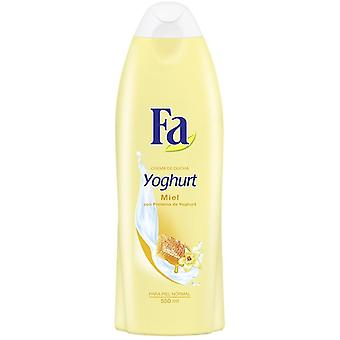 Fa Vanilla Honey Yoghurt Cream Bath 550 ml