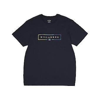 Billabong Unity kortärmad T-shirt i Marinblå