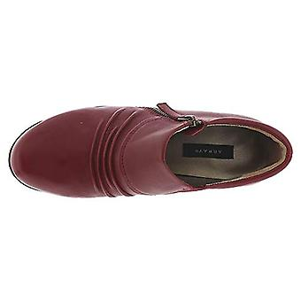 ARRAY Dallas Women's Slip On 10 C/D US Dark Red