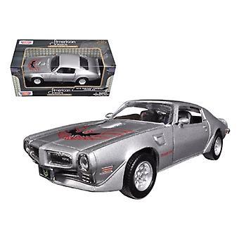 1973 Pontiac Firebird Trans Am Red 1/24 Diecast Model Car by Motormax