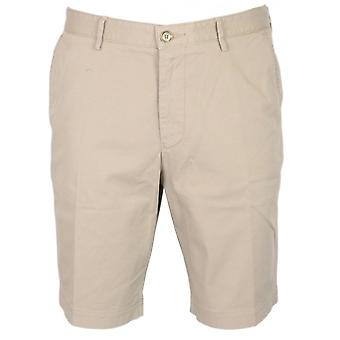 Hugo Boss segment katoen Beige Chino Shorts