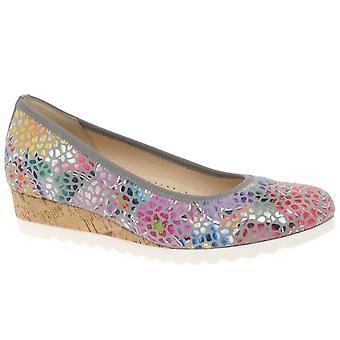 Gabor אפורת נשים נמוך עקבים נעליים