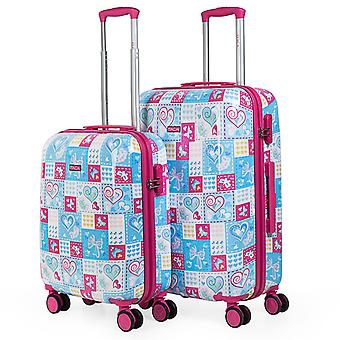 Set of 2 Children's Suitcases From The Itaca Signature
