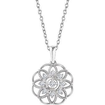925 מלוטש כסף שטרלינג 0.2 מגורט יהלום שרשרת פיליקים תכשיטים שרשראות לנשים