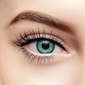 Mystic Turquoise Colored Contact Lenses (90 Day)