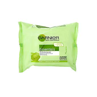 Garnier gewoon Essentials veegt 25 Pack