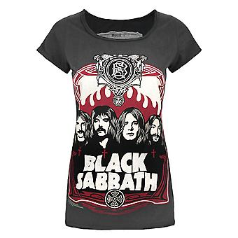 Amplified Black Sabbath Poster Women's T-Shirt
