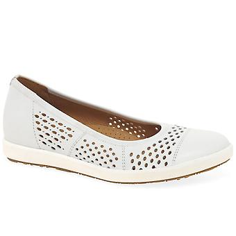 Gabor Pattie Womens Punched Detail Casual Schuhe