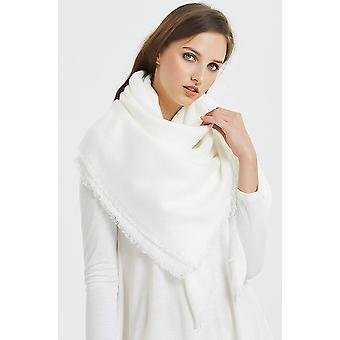 VIVIAN & VINCENT Soft Classic Luxurious Blanket Solid, White, Size One Size