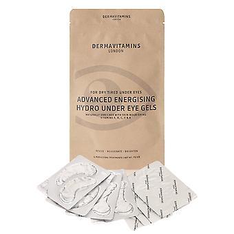 Dermavitamins Advanced Energising Hydro Under Eye Gels - for Dry Tired Under Eyes (8 Pack)