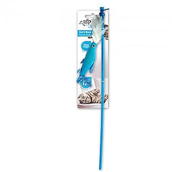 AFP Cats Wand Modern Cat Fish (Cats , Toys , Teaser Wands)