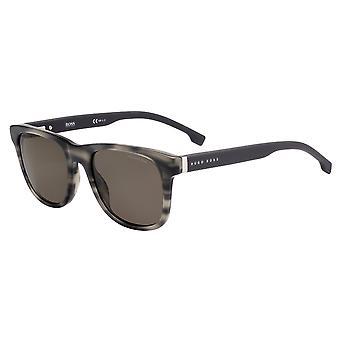 Hugo Boss 1039/S 2W8/SP Grey Horn/Polarised Bronze Sunglasses