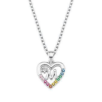 Princess Lillifee Kids Necklace Silver Letter Necklace M Girls 2027886