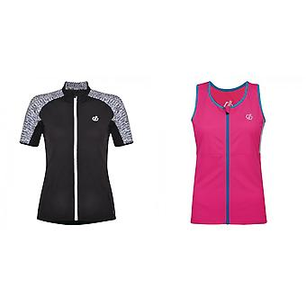 Dare2b Womens/Ladies Expound Short Sleeve Cycle Jersey