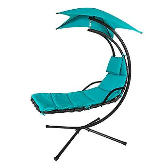 SoBuy OGS39-TB, Hammock Swing Chair Sun Lounger Relaxing Chair