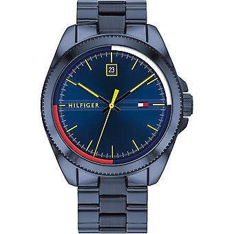 Tommy Hilfiger Watches 1791689 Green & Blue Stainless Steel Men's Watch