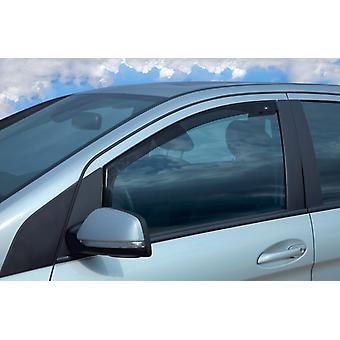 Tinted Front DGA Wind Deflectors For Mercedes Citan Box (415) 2012-2017