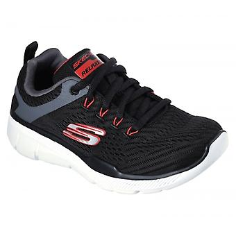 Skechers Equalizer 3.0 Boys Trainers Black/grey