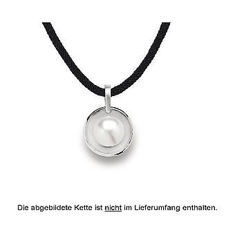 Bastian Inverun 925/- Gümüş kolye rodyum mat/cilalı üreme inci 20501