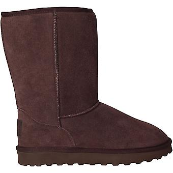 SoulCal Womens Tahoe Snug Boots Shoes Slip On Winter Casual Footwear
