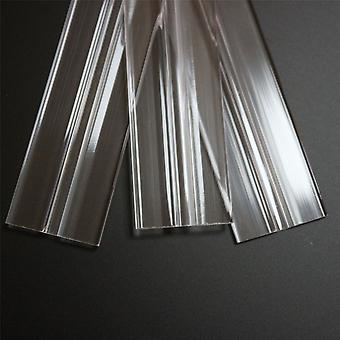 3 x 300mm low profile flexible living hinges