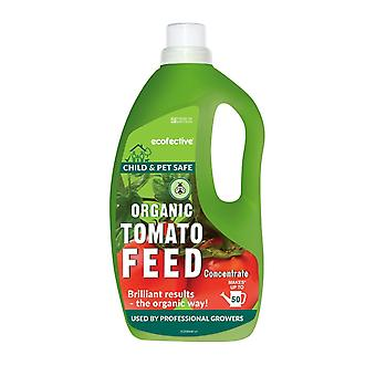 Organické paradajka krmivo koncentrát 1,5 L Ecofective