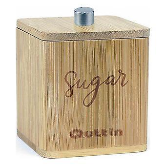 Socker skål Quttin Bambu (7 X 7 x 7,7 cm)